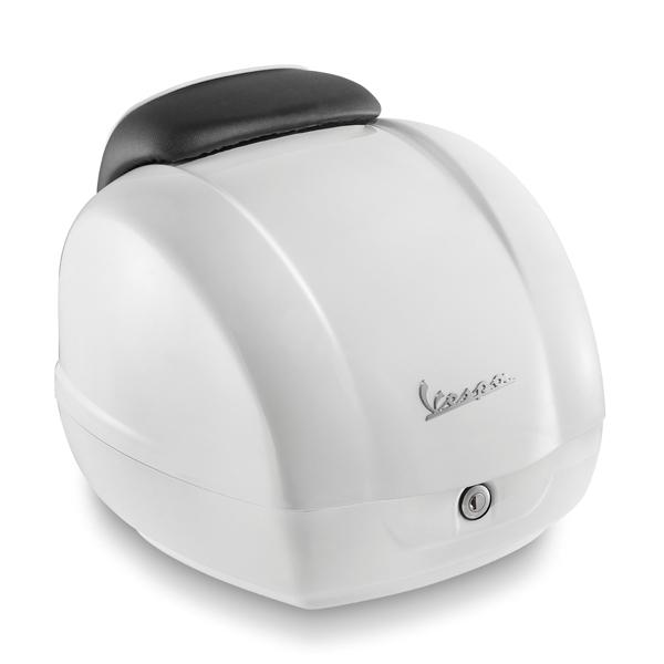 Kufr bílý pro Vespa GTS Super