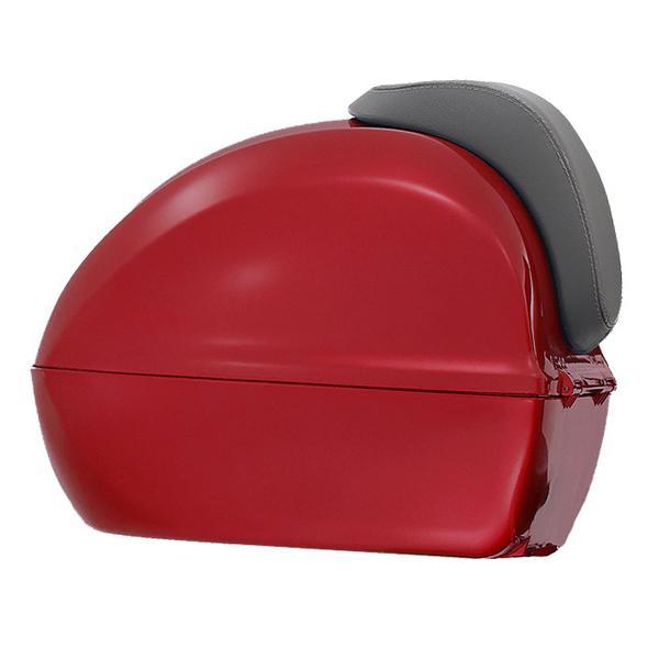 Kufr červený pro Vespa Primavera/Sprint