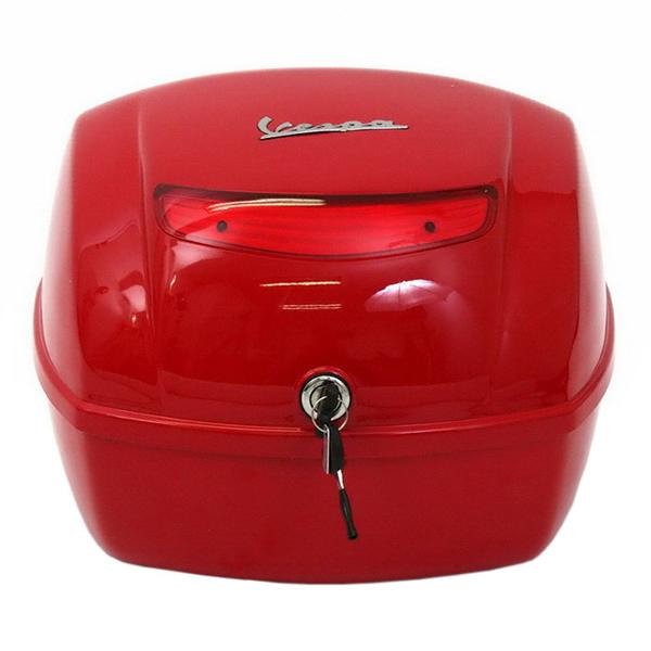 Kufr červený pro Vespa Px/Lx/S
