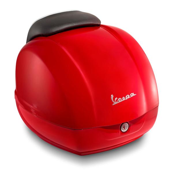 Kufr červený pro Vespa GTS Super