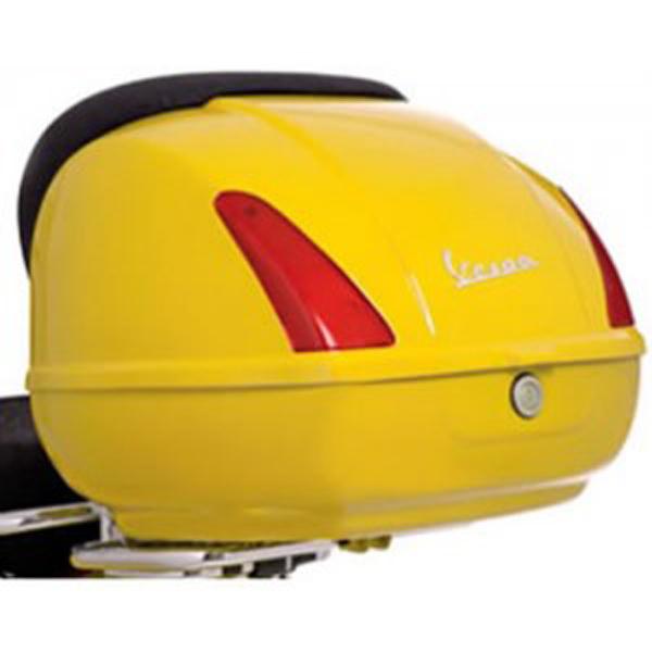 Kufr žlutý s montážní sadou pro Vespa GTS Super