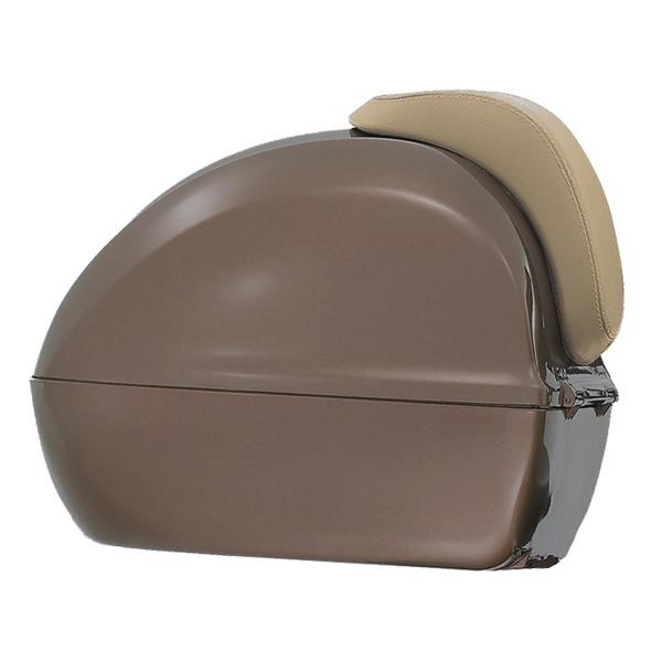 Kufr hnědý pro Vespa Primavera/Sprint