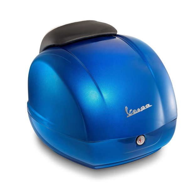 Kufr modrý pro Vespa GTS Super