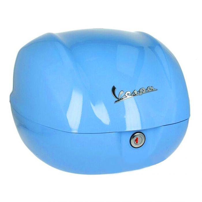 Kufr modrý pro Vespa Primavera Anniversario