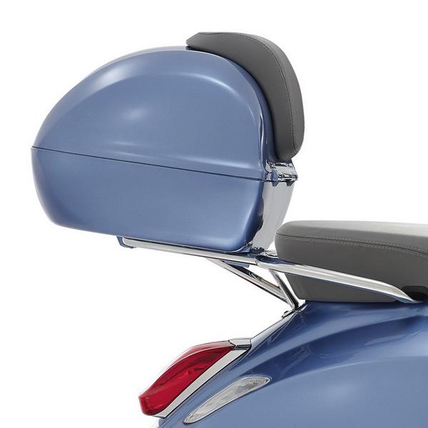 Kufr světle modrý pro Vespa Primavera/Sprint