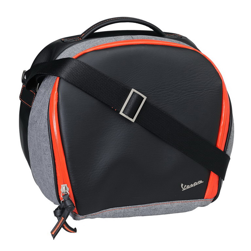 Taška do kufru oranžová s popruhem pro Vespa Primavera/Sprint/GT