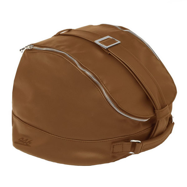 Taška na helmu přírodní kůže pro Vespa 946