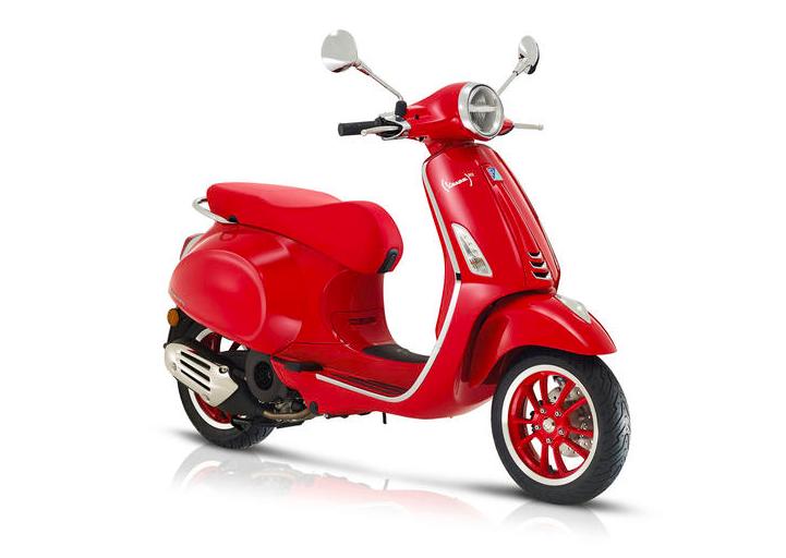 Vespa Primavera 125 Red ABS E5